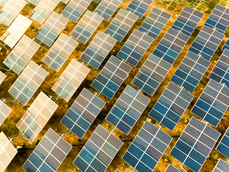 Floating photovoltaic panels could become a major power source.