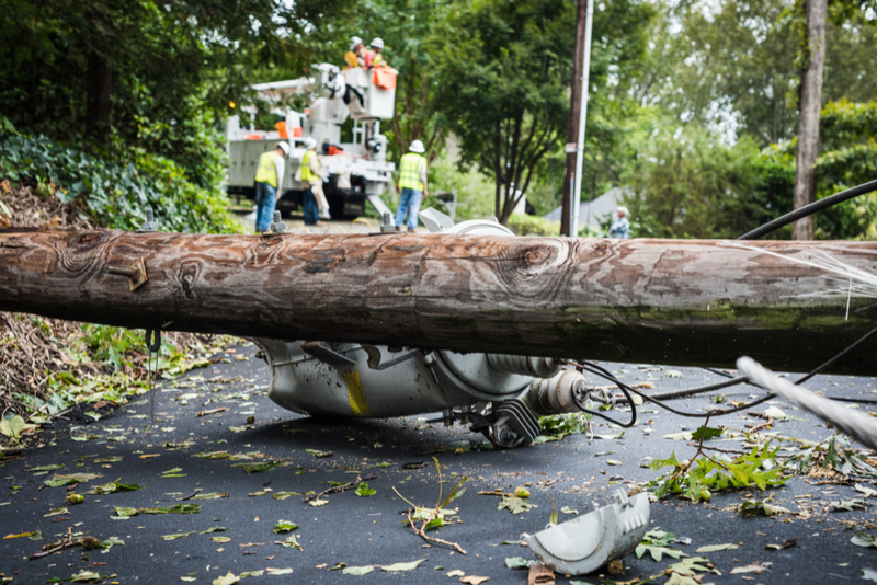 Was your outage caused by a natural disaster or something else?