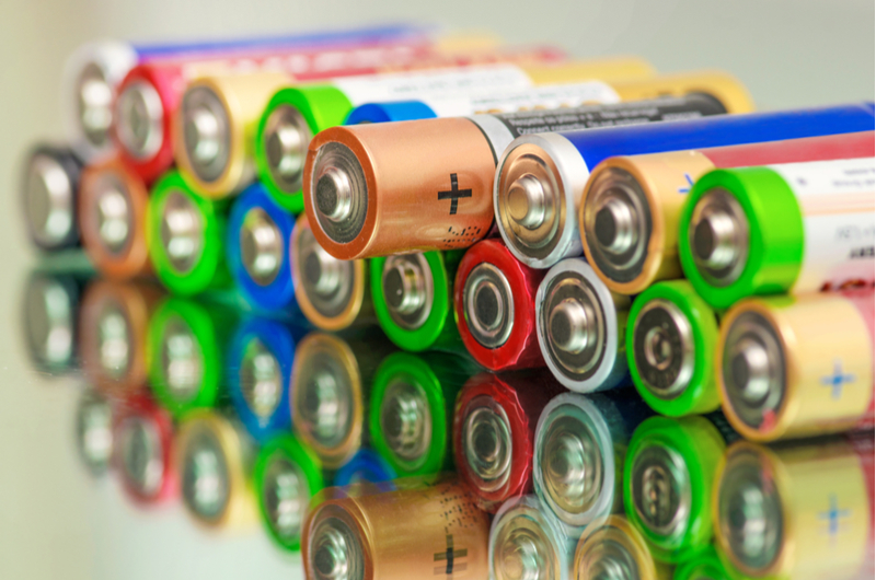 It's helpful to keep batteries on hand in case of outages.