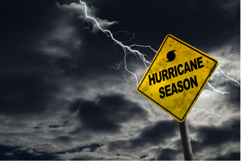 Be prepared for hurricane season this year.