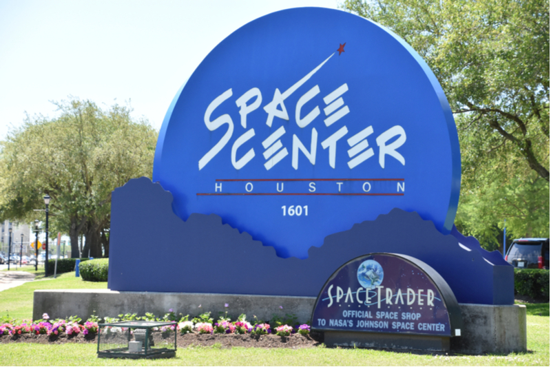 The NASA Space Center is a top destination in Houston.