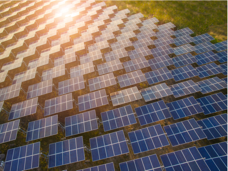 Wisconsin sharply increased its solar energy capacity with new projects.