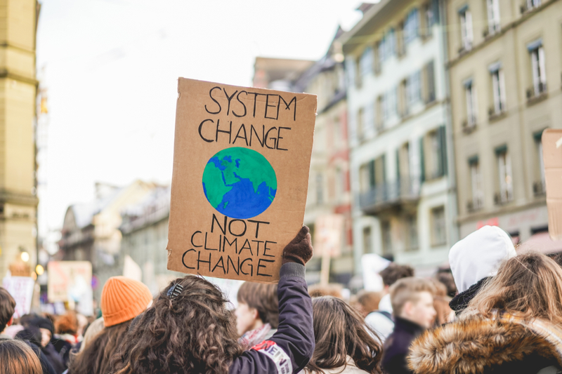Worldwide climate change protests call for action from policymakers.