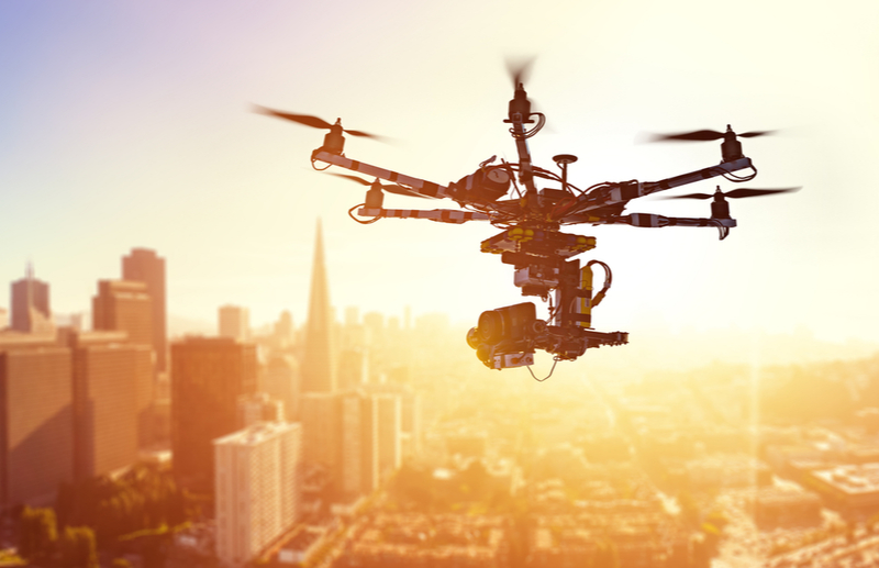 Drones are a form of artificial intelligence that can help offset climate change.
