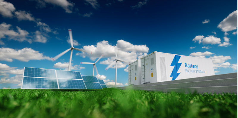 Energy storage costs must decrease for renewable energy sources to power the grid.