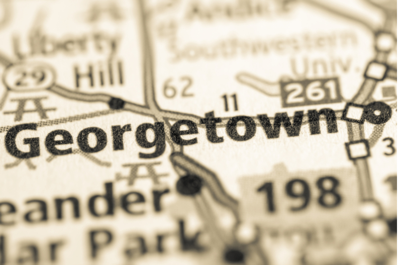 Georgetown, TX, announced in 2016 it would run on 100 percent renewable energy.