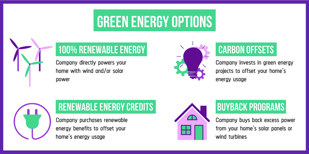 green energy plan options