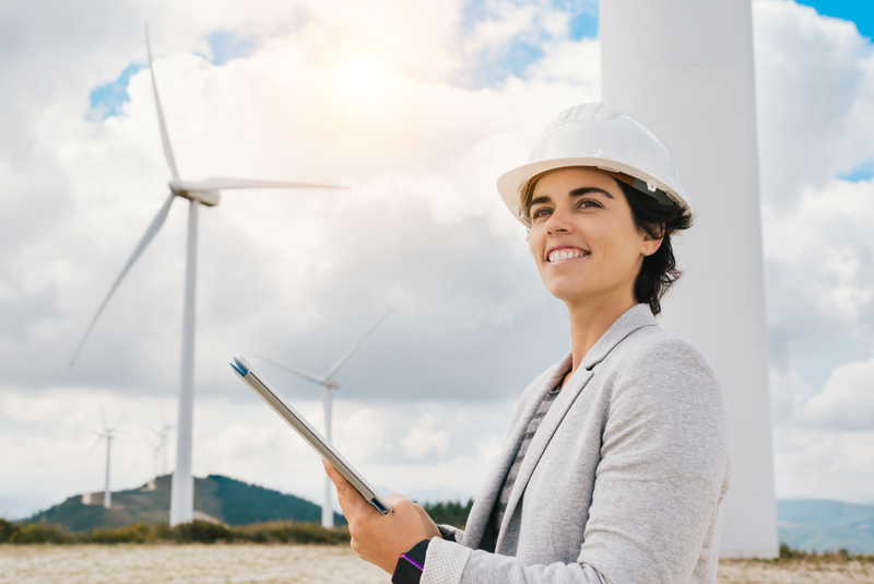 Women are gaining momentum in clean energy industries.