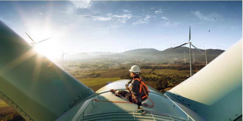 Duke Energy Renewables' wind farm came online in 2019.
