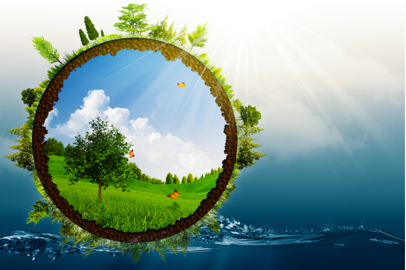 Wind energy can help conserve water.