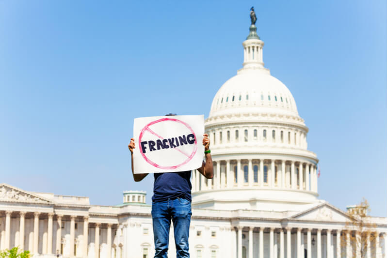 The upcoming election brings questions over a fracking ban.