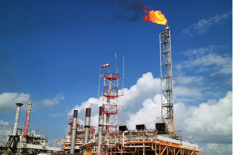 Flaring in Texas is an ongoing debate.