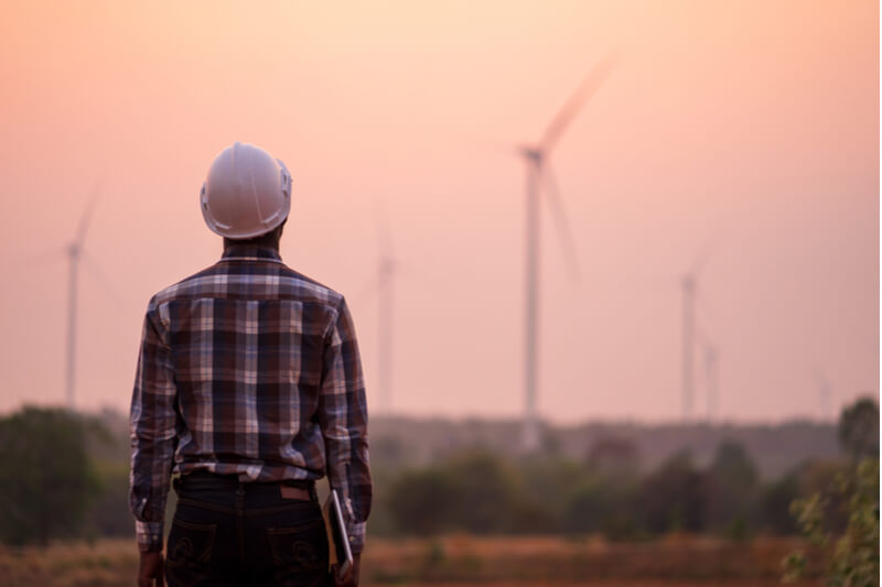 Wind turbines are an important topic in this year's election.