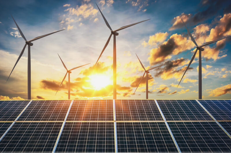 Energy capacity in the U.S. is turning to renewables.