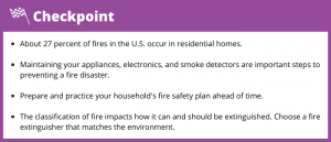 Fire safety facts you should know.